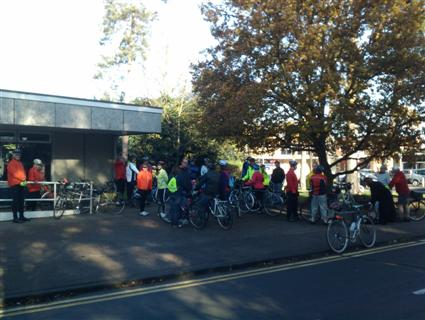 Colchester and Tiptree cyclists