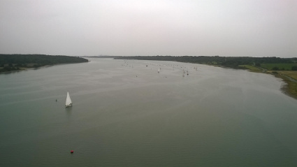 The River Orwell from Orwell Bridge